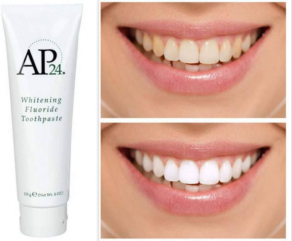 bieliaca zubná pasta AP - 24