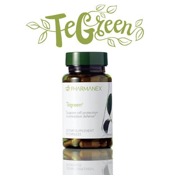 Výťažok zo zeleného čaju - Tegreen