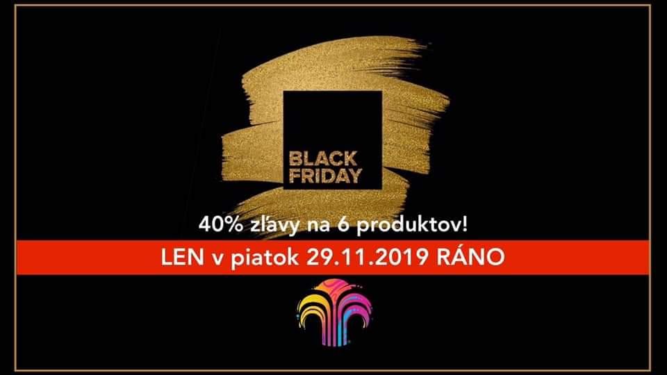 Black Friday 2019 – 40% zľavy