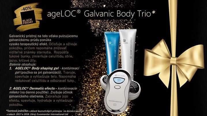 Galvanik Body Trio o 200€ lacnejší iba 29.11.2019