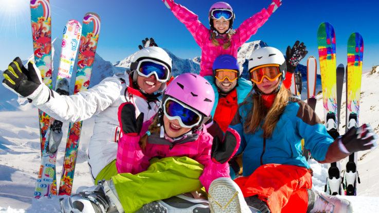 S deťmi na lyže