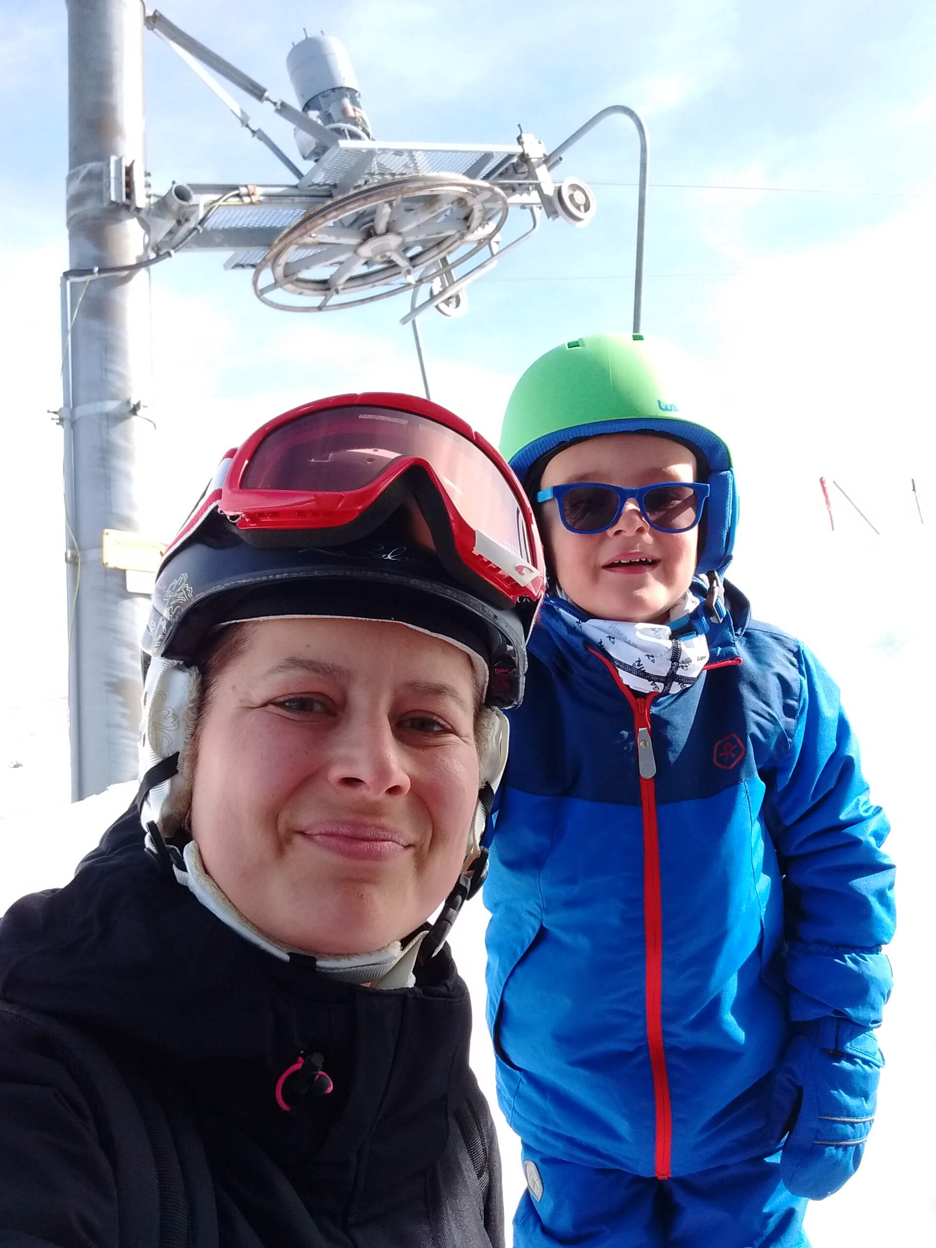 S deťmi na lyže ⛷
