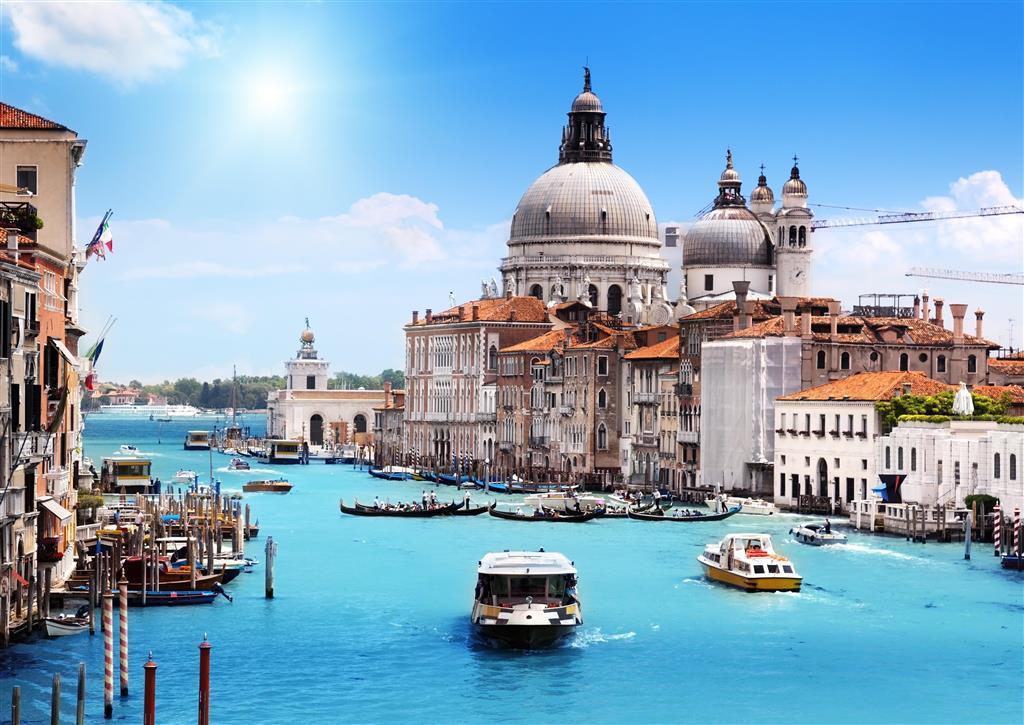 Kanál Grande v Benátkach