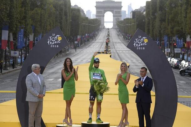 Champs-élysées ukončená víťazným oblúkom