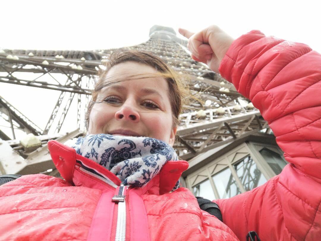 Eiffelova veža z 2. poschodia