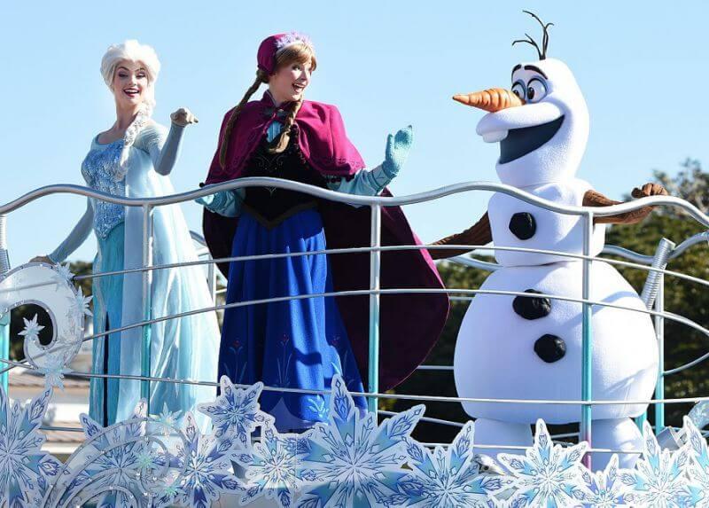 Frozen - Disneyland Paríž