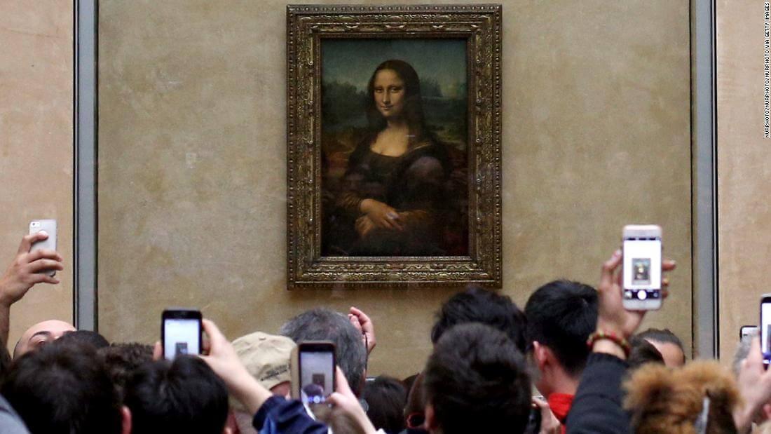 Mona Lisa v Louvri