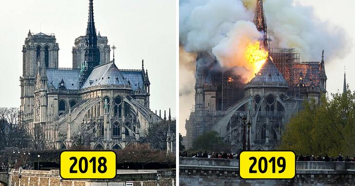 Požiar katedrály Notre-Dame - 15. apríla 2019