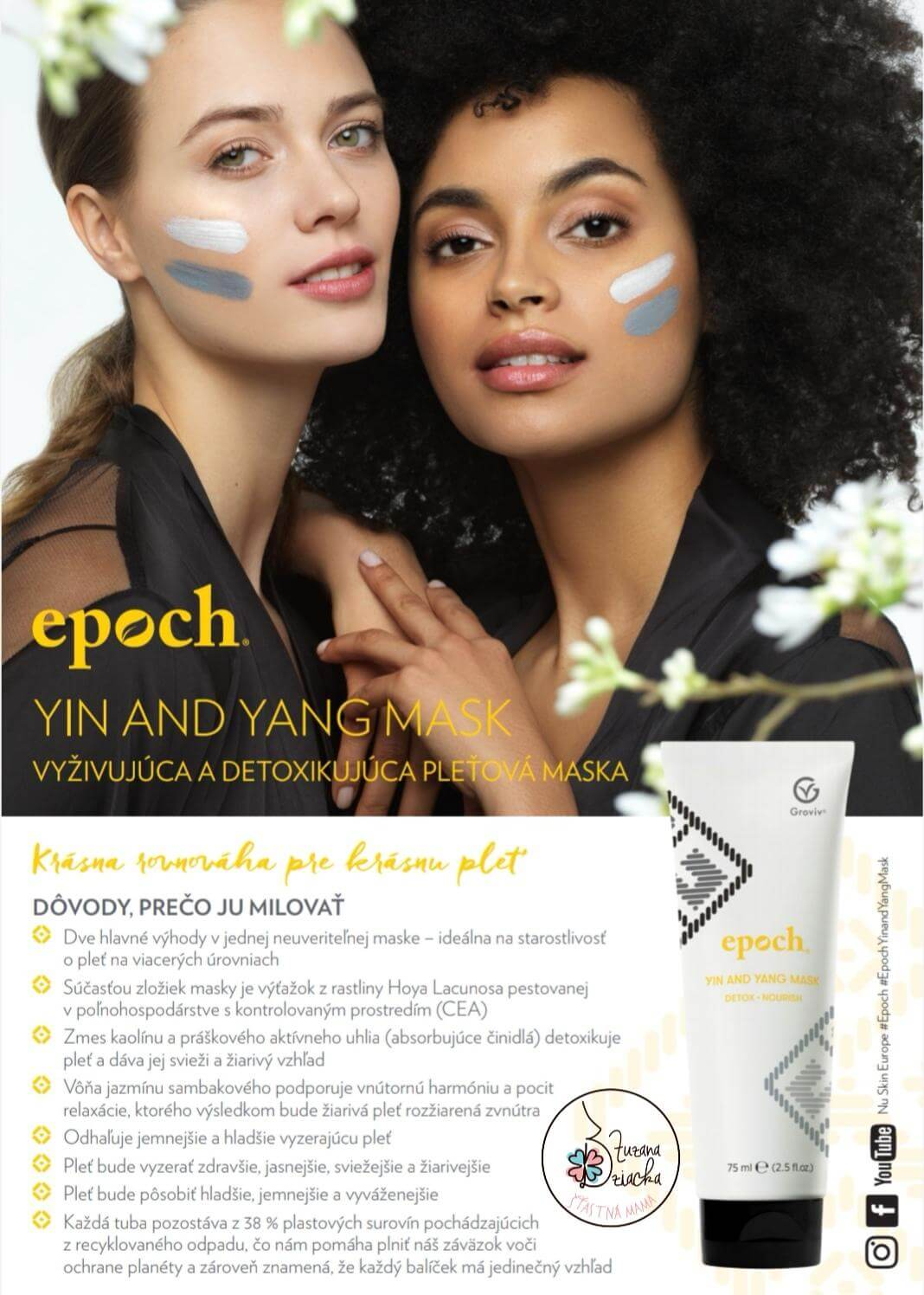 EPOCH Yin Yang face mask 1