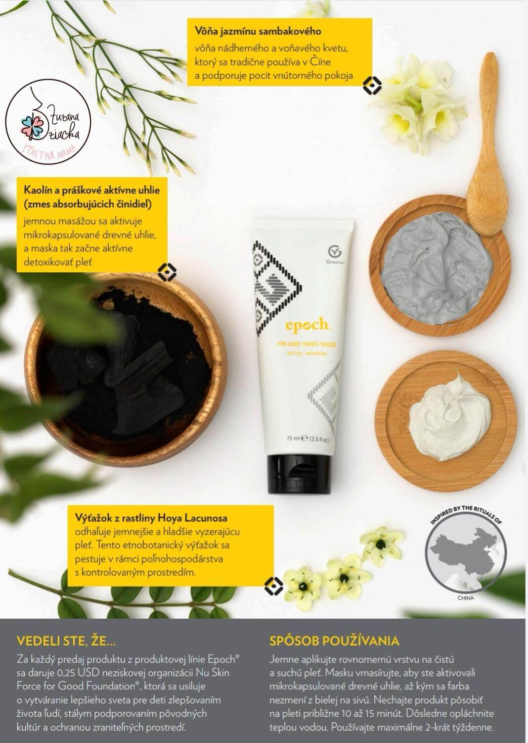 EPOCH Yin Yang face mask 2